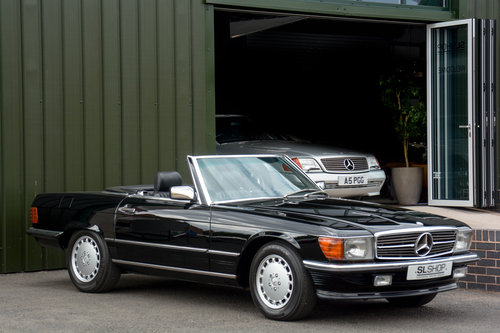 1989 MERCEDES-BENZ  500 SL LHD   STOCK # 2028 For Sale (picture 1 of 6)