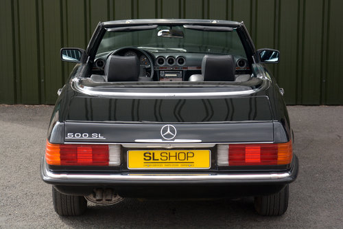 1989 MERCEDES-BENZ  500 SL LHD   STOCK # 2028 For Sale (picture 3 of 6)