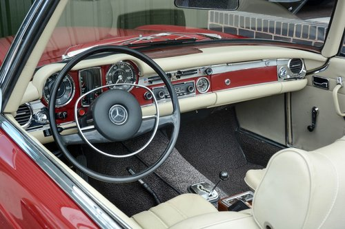 1969 MERCEDES-BENZ 280 SL   STOCK #2020 For Sale (picture 4 of 6)