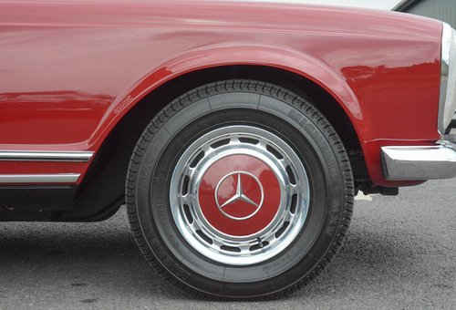 1969 MERCEDES-BENZ 280 SL   STOCK #2020 For Sale (picture 6 of 6)