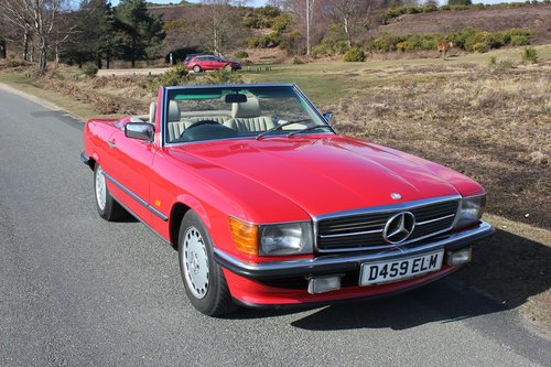 Mercedes 300SL 1986 Stunning Condition and Colour For Sale (picture 1 of 6)