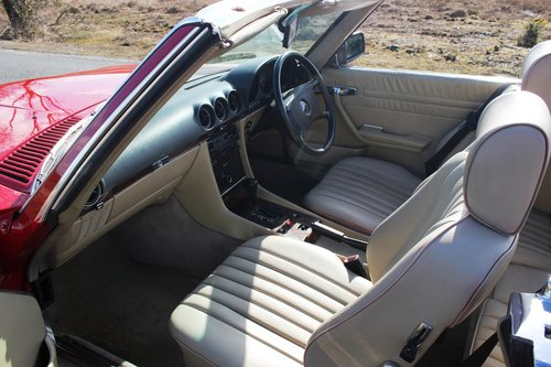 Mercedes 300SL 1986 Stunning Condition and Colour For Sale (picture 4 of 6)