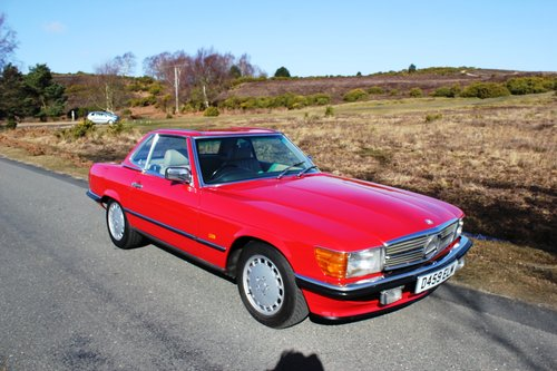 Mercedes 300SL 1986 Stunning Condition and Colour For Sale (picture 6 of 6)