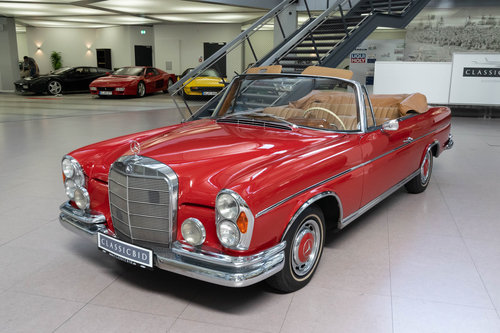 1965 Mercedes-Benz 220 SEb Convertible For Sale (picture 1 of 6)