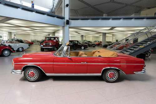 1965 Mercedes-Benz 220 SEb Convertible For Sale (picture 3 of 6)