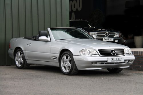 1999 MERCEDES-BENZ SL 320   STOCK #1986 For Sale (picture 1 of 6)