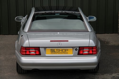1999 MERCEDES-BENZ SL 320   STOCK #1986 For Sale (picture 5 of 6)