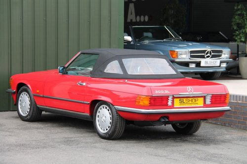 1987 MERCEDES-BENZ 300 SL   STOCK #2030 For Sale (picture 5 of 6)