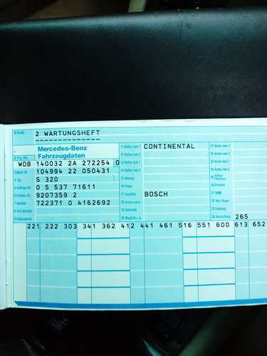 1995 Mercedes S320 W140 DUAL FUEL LPG   MOT June2019 For Sale (picture 6 of 6)
