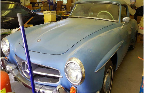 1962 Mercedes 190 SL RESTORE PROJECT SOLD (picture 1 of 1)