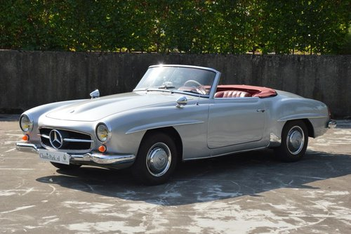(979) Mercedes-Benz 190 SL W121 Cabrio - 1960 For Sale (picture 1 of 6)