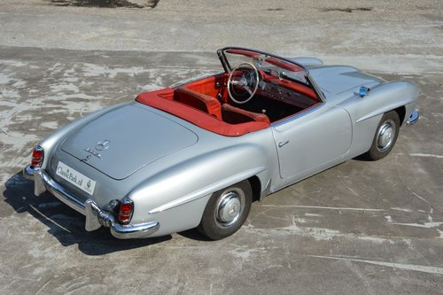 (979) Mercedes-Benz 190 SL W121 Cabrio - 1960 For Sale (picture 3 of 6)