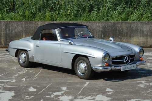 (979) Mercedes-Benz 190 SL W121 Cabrio - 1960 For Sale (picture 4 of 6)