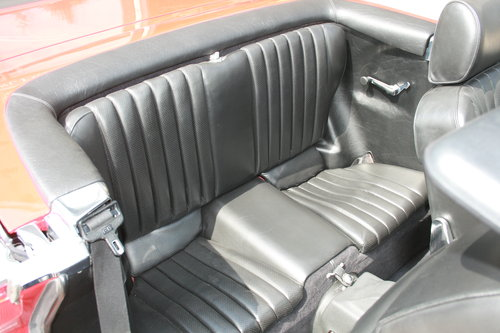 1988 Mercedes-Ben 500SL - Signal Red - 52,892 mild For Sale (picture 6 of 6)