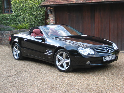 2004 Mercedes Benz SL350 Panoramic Roof With 34k + Just Serviced For Sale (picture 2 of 6)