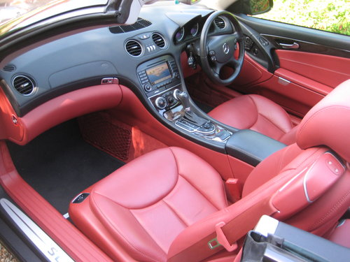 2004 Mercedes Benz SL350 Panoramic Roof With 34k + Just Serviced For Sale (picture 3 of 6)