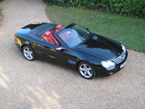 2004 Mercedes Benz SL350 Panoramic Roof With 34k + Just Serviced For Sale (picture 6 of 6)