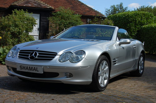 2004 Merc SL350 Immaculate, 28k miles, FMBSH, Panoramic Roof SOLD (picture 2 of 6)