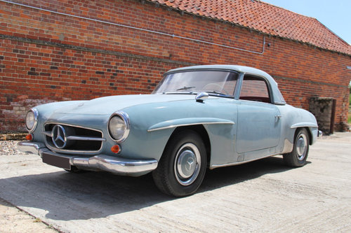 1962 Mercedes-Benz 190SL Barn Find SOLD For Sale (picture 1 of 6)