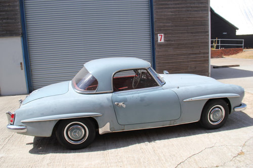 1962 Mercedes-Benz 190SL Barn Find SOLD For Sale (picture 2 of 6)