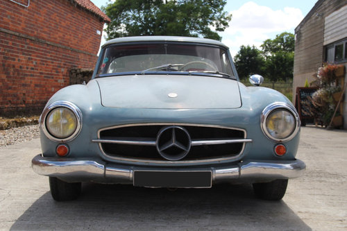 1962 Mercedes-Benz 190SL Barn Find SOLD For Sale (picture 3 of 6)
