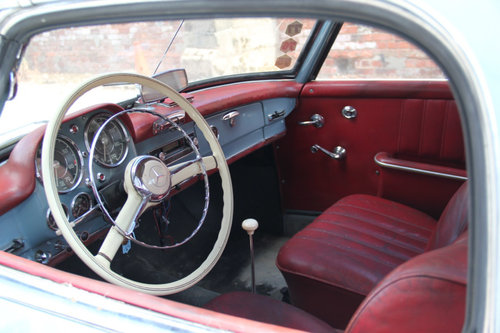 1962 Mercedes-Benz 190SL Barn Find SOLD For Sale (picture 4 of 6)