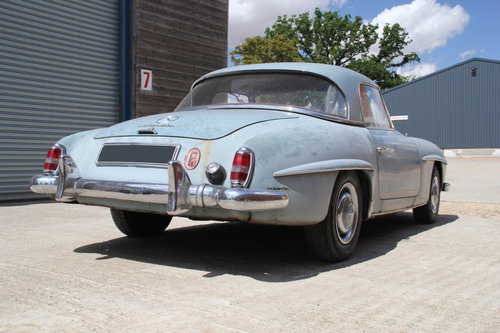 1962 Mercedes-Benz 190SL Barn Find SOLD For Sale (picture 6 of 6)