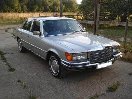 1979 Mercedes 350SE W116 - Immaculate SOLD (picture 3 of 6)
