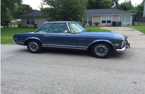 1970 mercedes 280SL SOLD (picture 1 of 6)