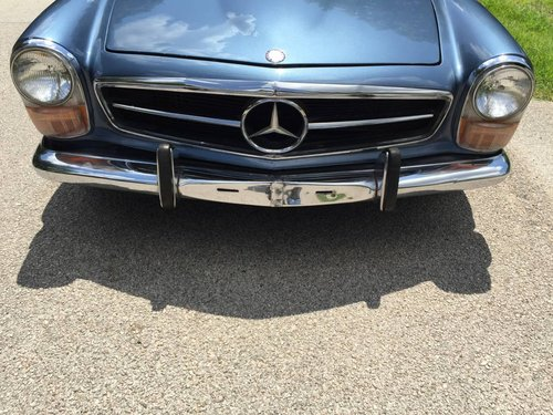 1970 mercedes 280SL SOLD (picture 6 of 6)
