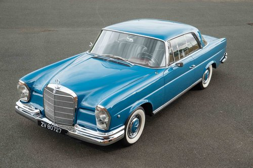 1962 MERCEDES 220SEb COUPE For Sale (picture 1 of 6)