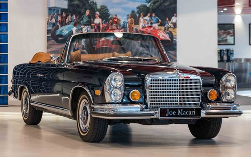 1971 Mercedes-Benz 280 SE 3.5 Cabriolet For Sale (picture 1 of 6)