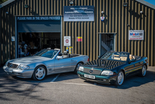 Turnbull & Oliver - Specialists in Mercedes Benz SL R129   (picture 3 of 6)