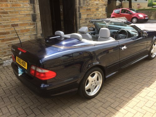 2001 CLKcabriolet f/s/h For Sale (picture 4 of 6)