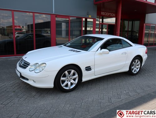 2003 Mercedes SL350 Cabrio 3.7L V6 245HP LHD For Sale (picture 1 of 6)