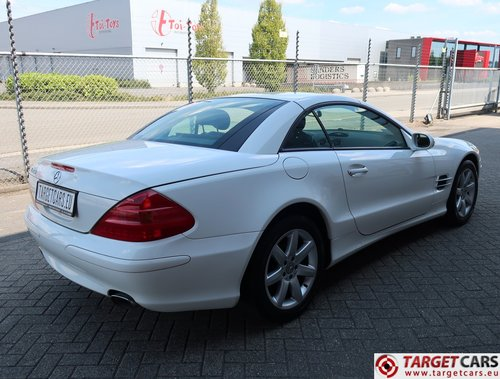 2003 Mercedes SL350 Cabrio 3.7L V6 245HP LHD For Sale (picture 3 of 6)
