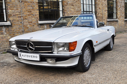 1987 Mercedes 500SL R107, one owner, low miles. For Sale (picture 1 of 6)