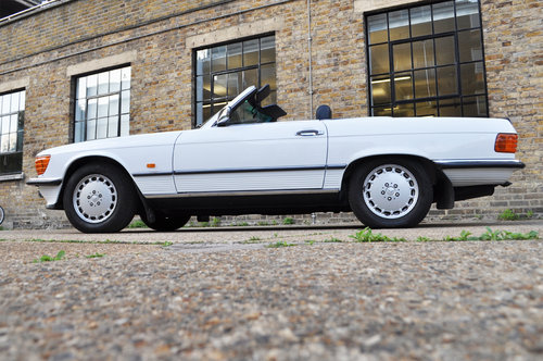 1987 Mercedes 500SL R107, one owner, low miles. For Sale (picture 2 of 6)