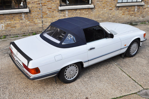 1987 Mercedes 500SL R107, one owner, low miles. For Sale (picture 3 of 6)