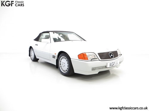1990 A Desirable Mercedes-Benz 300SL-24 R129 with 27,227 Miles SOLD (picture 1 of 6)