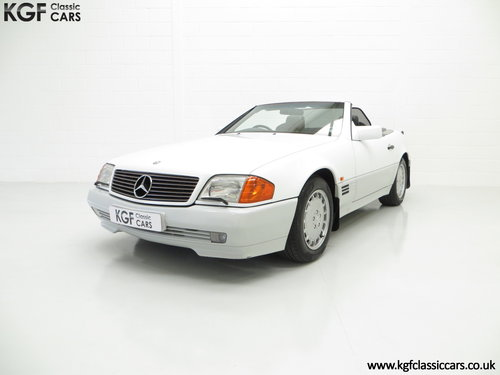1990 A Desirable Mercedes-Benz 300SL-24 R129 with 27,227 Miles SOLD (picture 2 of 6)