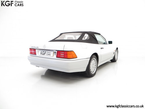 1990 A Desirable Mercedes-Benz 300SL-24 R129 with 27,227 Miles SOLD (picture 5 of 6)
