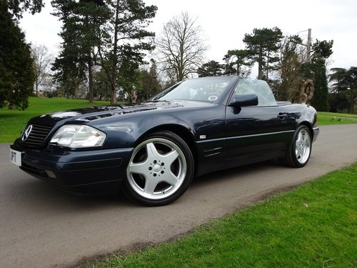 Mercedes benz SL500, 5 speed auto, 1996 For Sale (picture 1 of 6)
