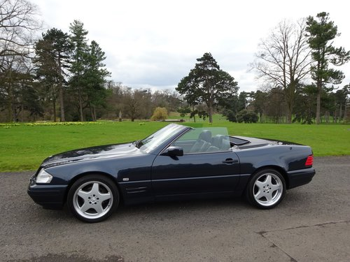 Mercedes benz SL500, 5 speed auto, 1996 For Sale (picture 6 of 6)