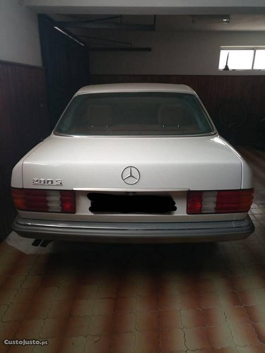 1983 Mercedes 280S Unique Rustfree only 13000km For Sale (picture 5 of 6)