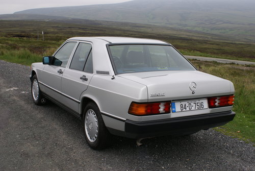 1984 Mercedes 190E, 2 owners, 46k miles SOLD (picture 3 of 6)