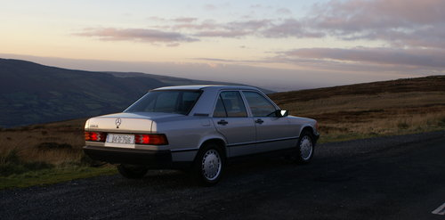 1984 Mercedes 190E, 2 owners, 46k miles SOLD (picture 5 of 6)