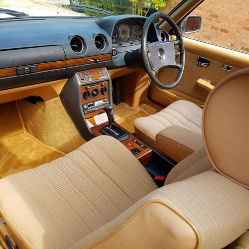 Mercedes W123 230CE Pillarless Coupe 1984 £9,995 SOLD (picture 5 of 6)