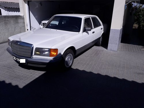 1983 Mercedes 280S Unique Rustfree only 13000km For Sale (picture 6 of 6)