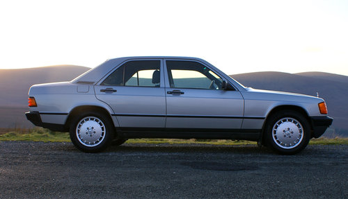 1984 Mercedes 190E, 2 owners, 46k miles SOLD (picture 1 of 6)